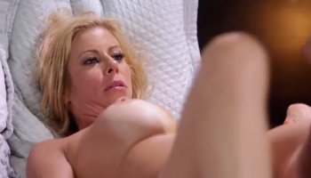 Mature redhead Ania eats his dick before and after he bangs her